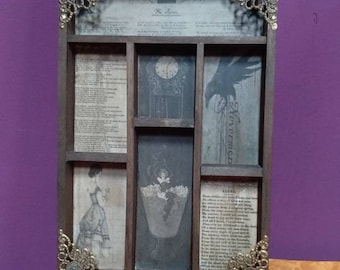 Edgar Allan Poe Cabinet of curiosities