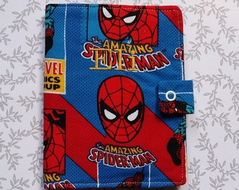 Spiderman crayon holder