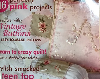Sew Beautiful magazine issue no. 122, 2009 with uncut featured patterns