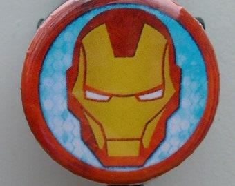 "Marvel ""Iron Man"" icon badge reel"