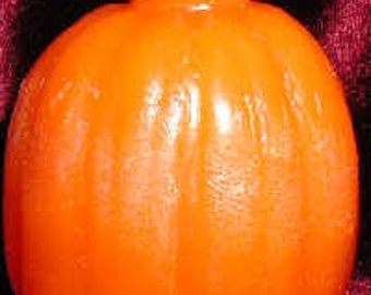 Rubber Large Pumpkin Candle Mold - Sale