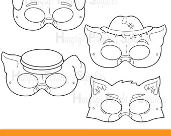 Superhero Printable Coloring Masks superhero mask hero mask