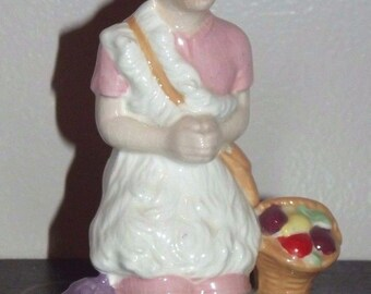 Vintage 1971 HOLLAND MOLD Nativity Shepherd  Ceramic Figurine