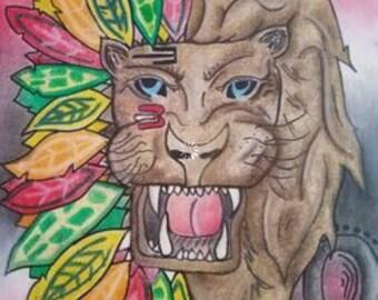 Blackhawks / leo lion