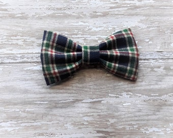 Christmas dog bow tie, holiday bow tie, dog accessory, holiday party dress for dog, rescue, home party