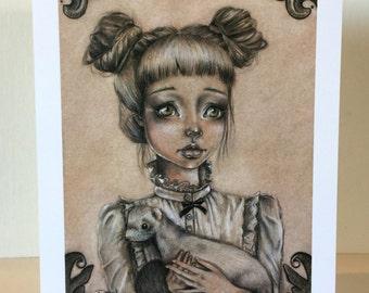 Miss Madeline 5x7 Print