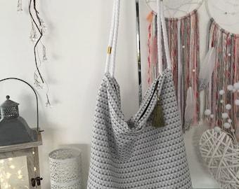 Diamonds and tassel bag