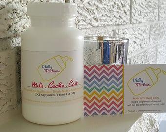 Milk Leche Lait - lactation supplement // breastfeeding supplement // increase milk supply // galactagogue