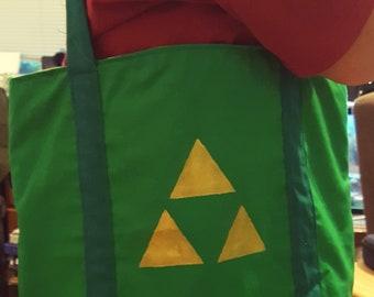 Legend of Zelda Triforce bag
