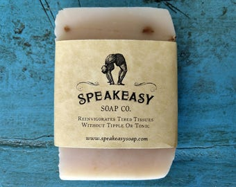 Patchouli, Ylang Ylang & Lavender Speakeasy Soap, all natural soap, handmade soap, patchouli soap