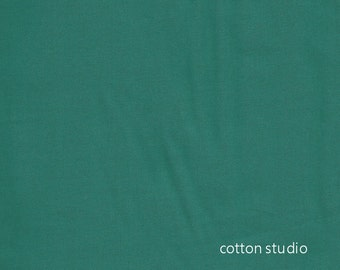 Cotton Couture Teal Michael Miller Fabric by the Half Yard Solid