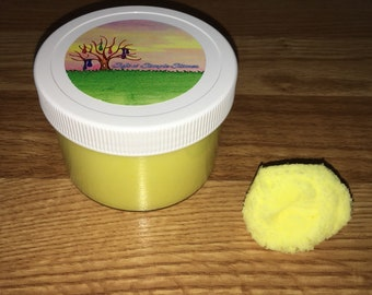 Banana Smoothie Cloud Slime