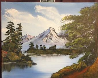 Original Landscape Painting 11 x 16
