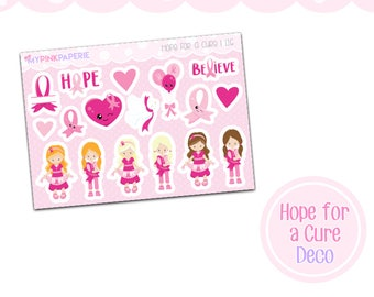 116 | Hope for a Cure Deco Stickers