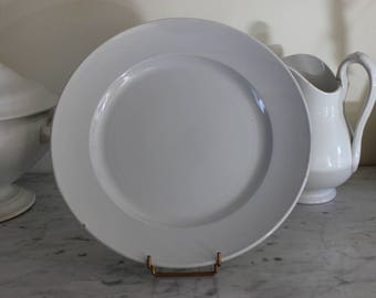 Great old dish Creil and Montereau in bakery period Barluet & Cie (1876-1884)