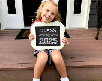 Class of 2025 - Back to School - Teacher Signs - First Day of School Sign- Teacher Signs