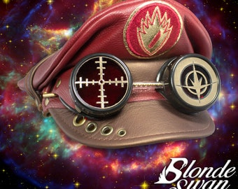 NEW!!! Guardians of the Galaxy Inspired Crush Cap & Goggles