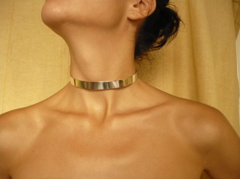 Silver Bdsm Collars Sterling