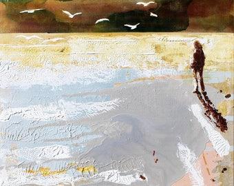 """SUMMER PRINT, SUMMER Wall Art, Summer Art Print, Summer Print, Summer Decor, Summer Collection """"Early Summer"""" painting by Melanie McDonald"""