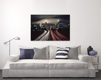 Cityscape -Photography on Canvas | Wall Art