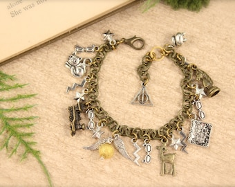 Harry Potter Inspired Charm Bracelet SALE!