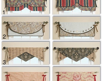 Choose your style reversible valance