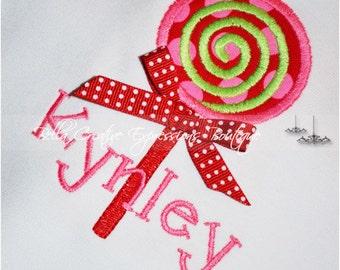 Lollipop Appliqued Onesie or Shirt