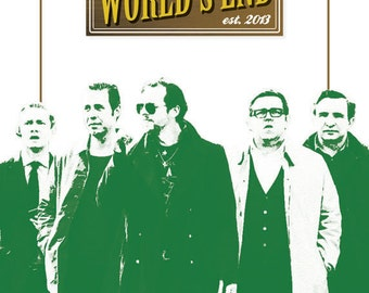 The World's End - Film Poster
