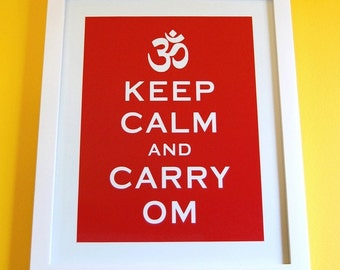 ON MEGA SALE Keep Calm and Carry On parody 8 x 10 print -- A modern twist on an old favorite