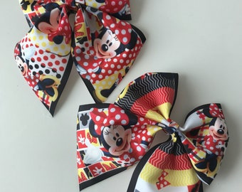 Set of Minnie Mouse Bows