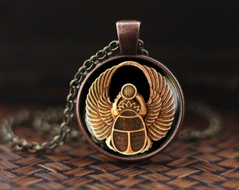 Scarab pendant, Scarab jewelry, ancient egypt jewelry, Egyptian jewelry, Scarab Necklace, Egyptian Scarab, men's scarab necklace