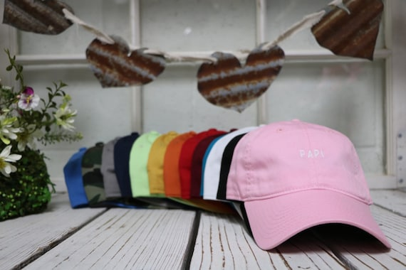 Dad Hat   PAPI ,  Embroidered , Baseball Cap , Low Profile , Mami , Daddy , Gifts For Him , Tumblr Hat , Tumblr Dad Hat , Papi Hat , Hats