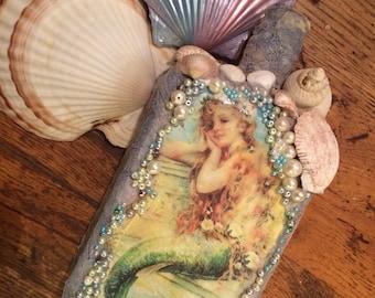 Altered Mermaid Bottle