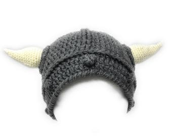 Handmade Toddler Viking Hat, Viking Helmet