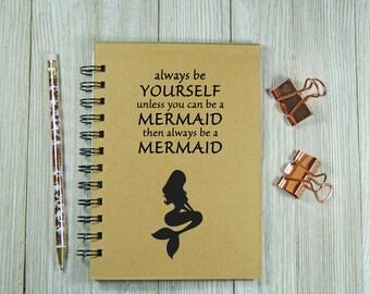 Mermaid notebook/journal
