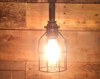 Pendant Light - Pendant Lighting - Industrail Pendant Light- Ceiling Pendant Light - Ceiling Pendant Fixture - Lighting - Steampunk Light