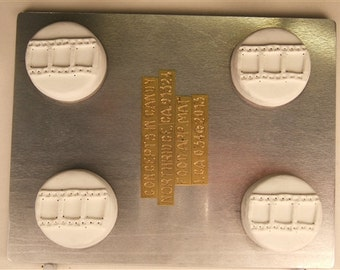 Film Strip Sandwich Cookie Mold, LCA034