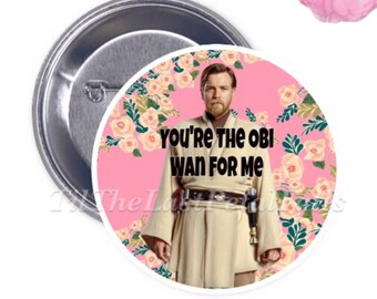 Obi-Wan Kenobi - Your Choice of 2-1/4 inch Button Product Accessory