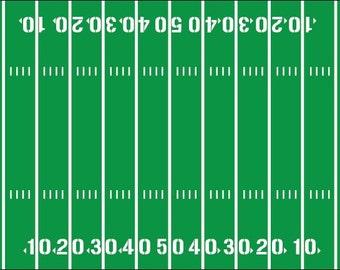 Football Field Yardline Numbers Room Decal Removable Vinyl 2088