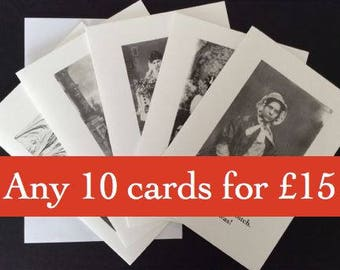 Pick'n'Mix pack of 10 cards