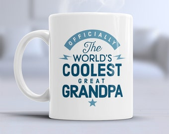 Great Grandpa Gift, Grandpa Mug, Coolest Grandpa, Birthday Gift Grandpa! Grandpa, Grandpa Birthday Gift, Present For Grandpa, Great Grandpa