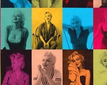 Marilyn Monroe, The Estate Cotton Woven by Robert Kaufman