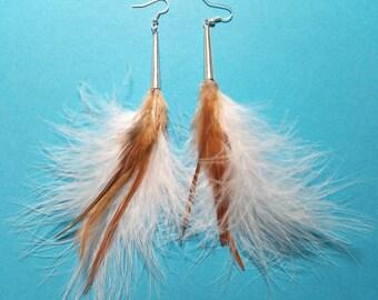 """Earrings """"BOHO Feather 1"""""""