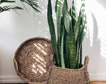 Extra Large Rattan Tray Wicker Wall Hanging
