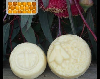 Beeswax Hand Lotion Bar, all natural, handmade lotion - 80gm