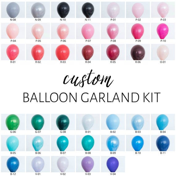 One Stylish Party Custom DIY Balloon Garland Kit
