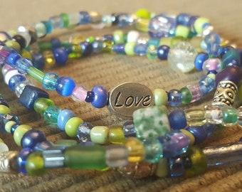 Bracelets - Blues & Greens