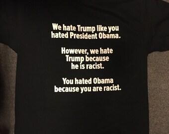 Racist Trump shirt