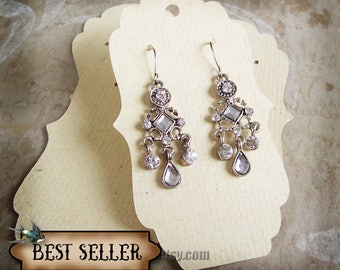 2x3.5 Long•Decorative Earring Cards•Jewelry cards•Necklace Card•Earring Display•Earring Holder•Necklace Holder•bulk