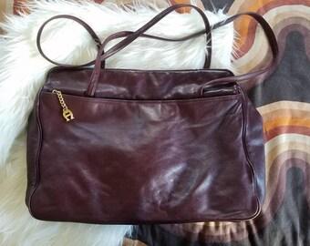 VTG Etienne Aigner Bag, Large Leather Purse